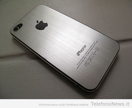 iphone cover posteriore in alluminio