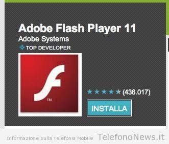 Adobe rimuove definitivamente il Flash Player dal Play Store per i smartphone!