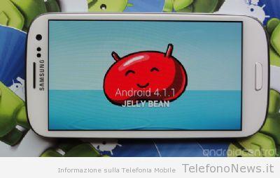 Jelly Bean per il Galaxy SIII verrà rilasciato il 29 Agosto?