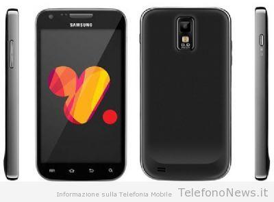 Nuova foto e caratteristiche del nuovo Galaxy SII Plus di Samsung!