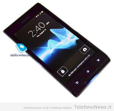 Nuova foto e caratteristica del nuovo Xperia J di Sony Mobile!