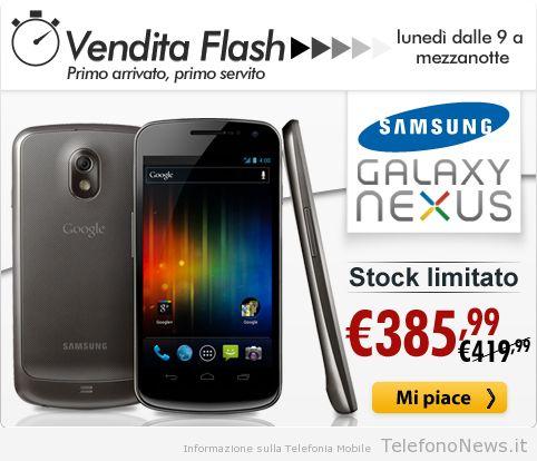 Samsung Galaxy Nexus in promozione da Expansys solo per oggi!