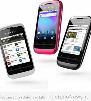 Alcatel OT-903: nuovo smartphone economico in arrivo sul nostro mercato!