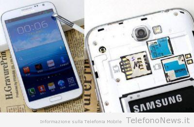 Il nuovo Galaxy Note II in versione Dual SIM per il mercato cinese!!