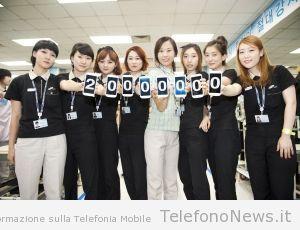 Galaxy SIII, ben 20 milioni di dispositivi venduti in soli 100 giorni!