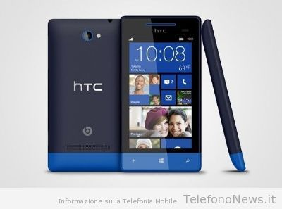 HTC annuncia ufficialmente il suo nuovo HTC 8S con il sistema operativo Windows Phone 8!