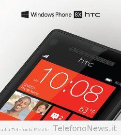HTC 8X con il nuovo sistema operativo Windows Phone 8, nuove info sulle caratteristiche!