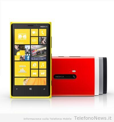 La Telecom metterà in commercio il Nokia Lumia 920 qui in Italia!