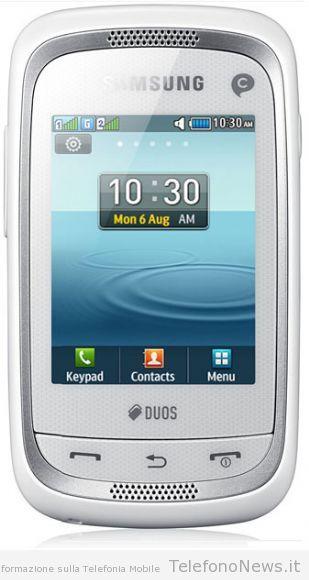 Samsung annuncia ufficialmente il suo nuovo prodotto Champ Neo Duos (GT-C3262)!