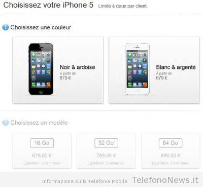 Preordini da record per il nuovo iPhone 5 di Apple!