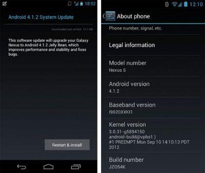 Arriva Android 4.1.2 ufficialmente sui dispositivi Galaxy Nexus, Nexus S e infine Nexus 7!