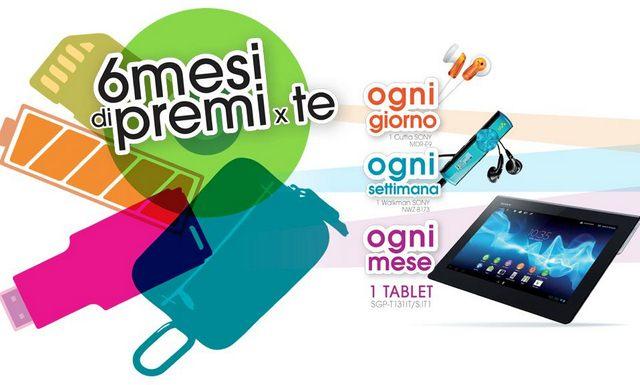 Sony: nuovo concorso per vincere il nuovo dispositivo Xperia Tablet S!!