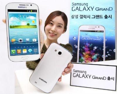 Samsung, in Corea arriva ufficialmente il Galaxy Grand quad core con rete LTE!