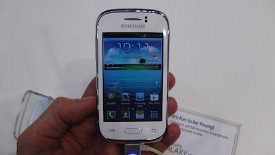 [MWC2013] ecco il Galaxy Young di Samsung
