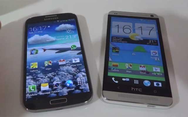 Recensione: Caratteristiche a confronto tra il Galaxy S4 e l' HTC One