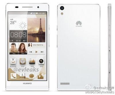 In Cina c' è già disponibile l' Ascend P6S di Huawei