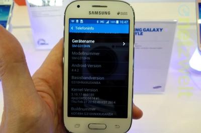 Samsung: ecco il Galaxy Ace Style