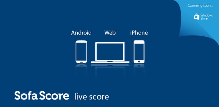 Android: app per seguire le partite in tempo reale, SofaScore