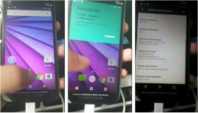 Specifiche tecniche Motorola Moto G 2015