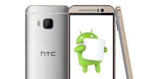 Aggiornamento HTC One M9 Android 6.0 Marshmallow