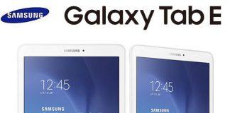 Aggiornamento firmware Galaxy Tab E