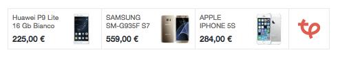 cerca il tuo smartphone, al miglior prezzo