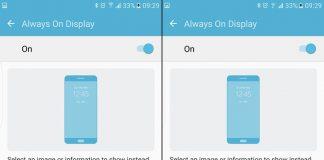 Come disattivare o personalizzare la funzione Always On del display su S7