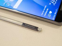 Aggiornamento Galaxy Note 5