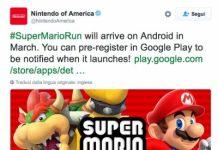 Uscita Super Mario Run Android