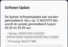 Aggiornamento Galaxy S8