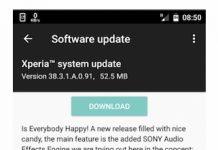 Aggiornamento Sony Xperia X