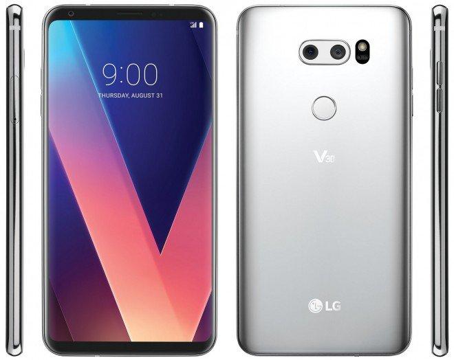 Rivelato il design definitivo di LG V30?