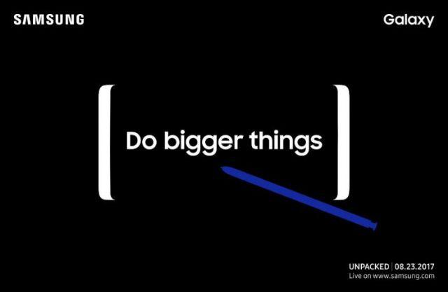 Quanto costerà il Samsung Galaxy Note 8