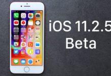 Beta 5 di iOS 11.2.5