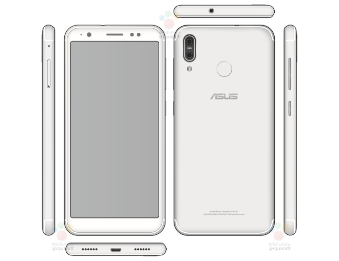 Asus ZenFone 5 | i primi render mostrano un display 18:9