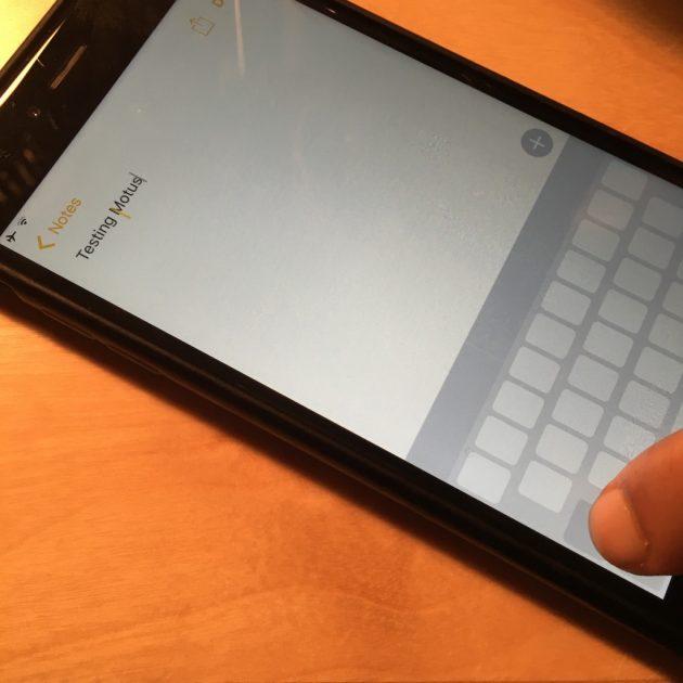 come si attiva la modalità trackpad su tutti gli iPhone