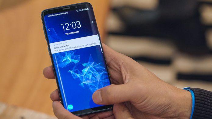 Aggiornamento Galaxy S9