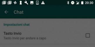 Come aumentare le dimensioni del carattere su Whatsapp