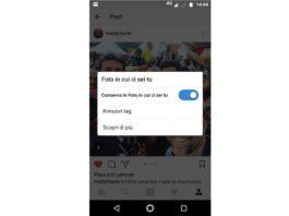 Come cancellare le foto dove sei taggato su Instagram