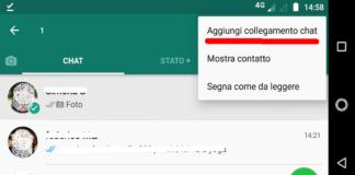 Come creare un collegamento a una chat di Whatsapp sulla homepage