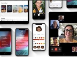 prima beta di iOS 12.1.2