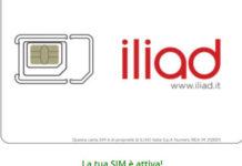 Come attivare la SIM Iliad
