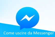 Come disconnettersi su Facebook Messenger