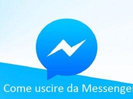 Come disconnettersi su Facebook Messenger