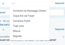 come segnalare contenuti di spam