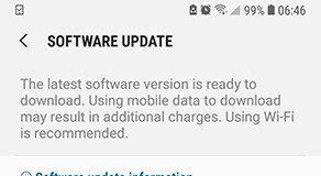 Aggiornamento Samsung Galaxy A6 Plus