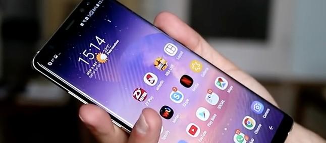 Aggiornamento Samsung Galaxy Note 8