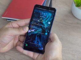 Aggiornamento Galaxy A7 2018