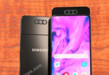 Design Galaxy A80