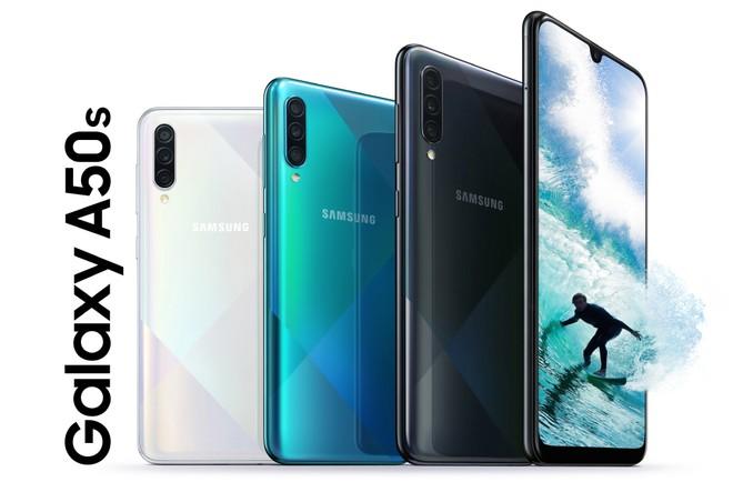 Samsung Galaxy A50s nuovo aggiornamento